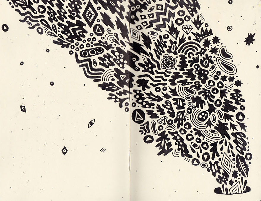 doodles-sketchbook-drawings-sophie-roach-141
